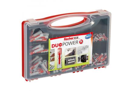 Fischer Red-Box DuoPower pluggen 280 delig